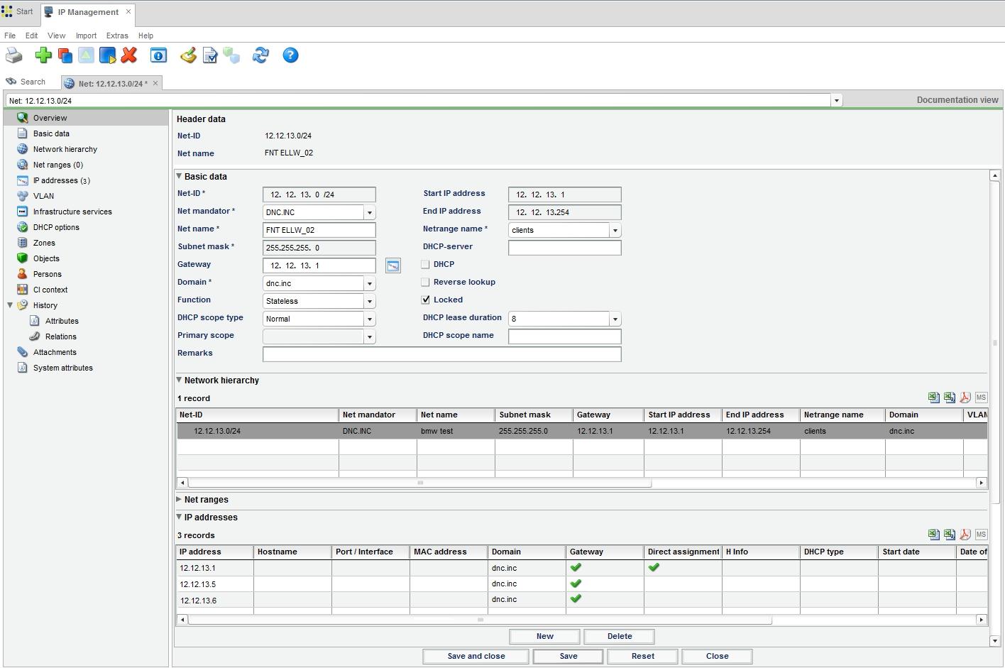 Spreadsheet Ip Address Management Throughout Ip Address