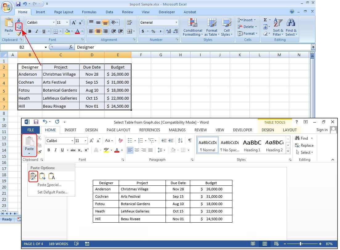 Spreadsheet Table With How To Create Tables In Microsoft