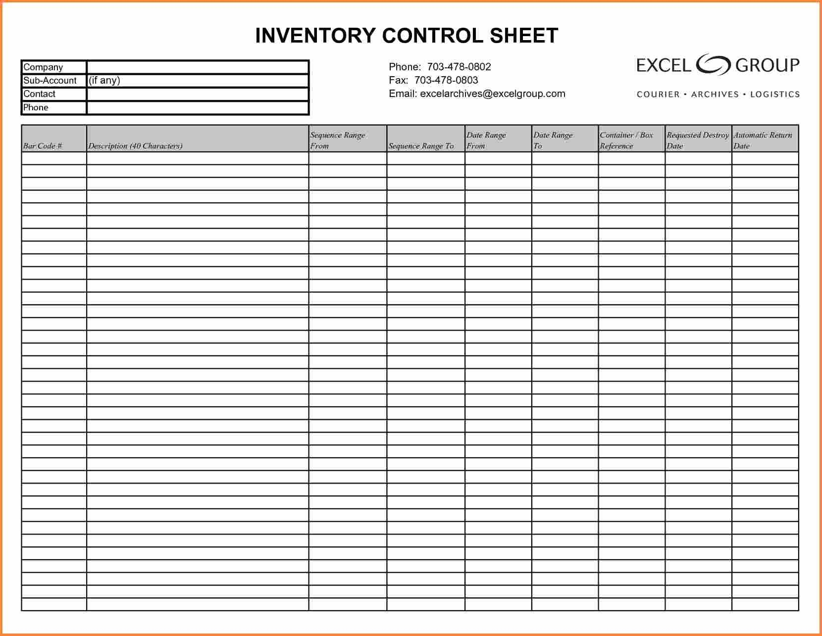 Stock Count Excel Spreadsheet Pertaining To Sample Of