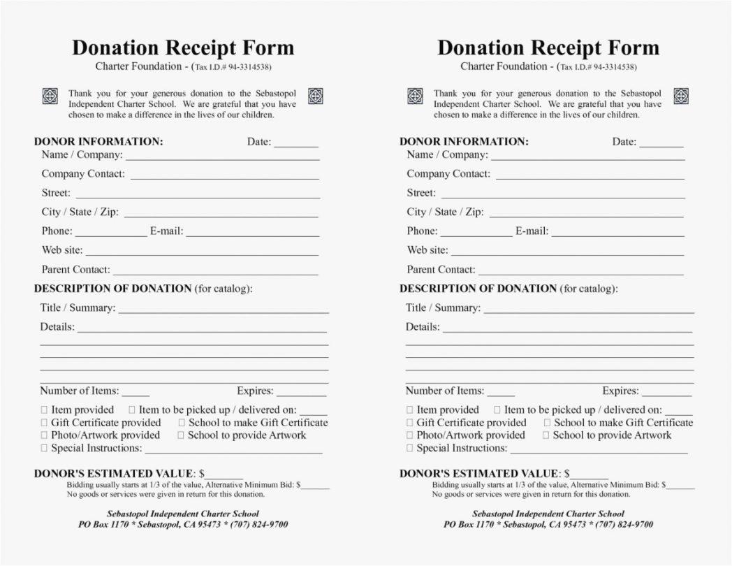 Tax Donation Spreadsheet Printable Spreadshee Tax Donation