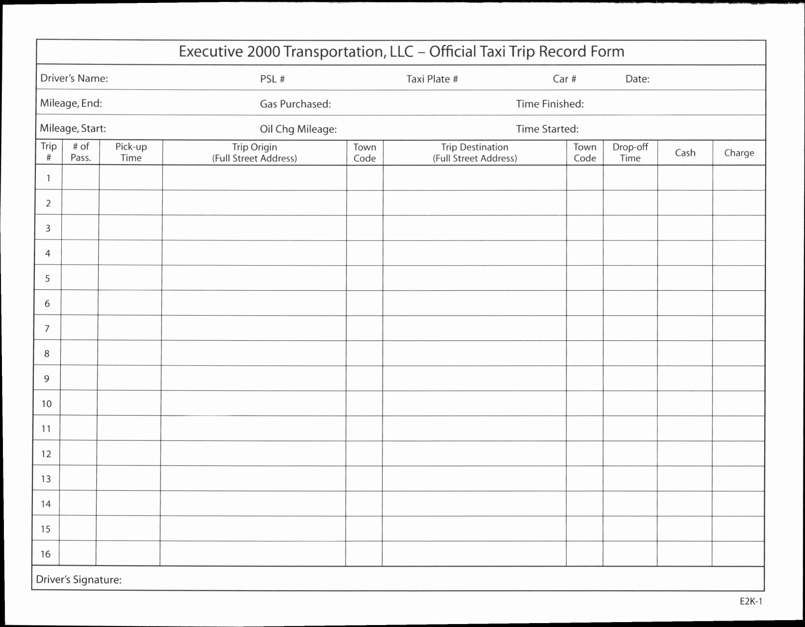 Taxi Driver Spreadsheet Spreadsheet Download Taxi Driver