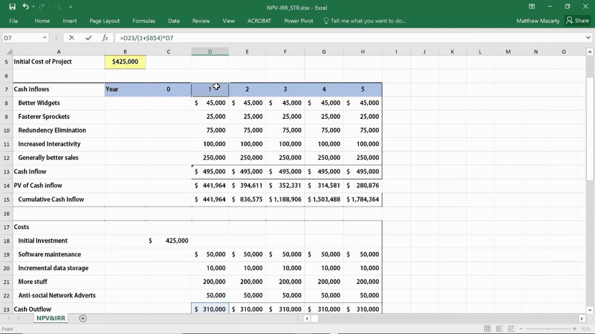 Test Automation Roi Calculation Spreadsheet Spreadsheet