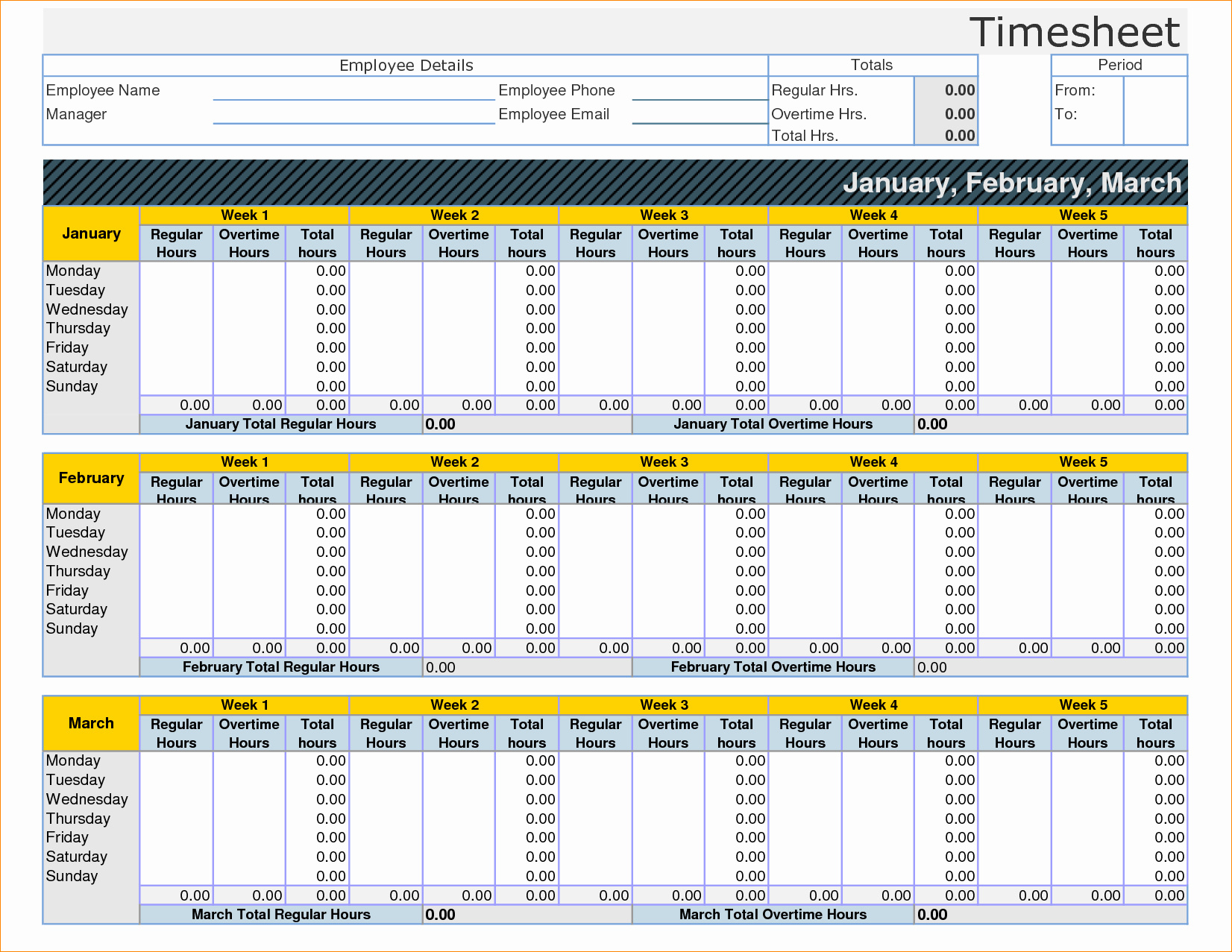 Time Tracking Spreadsheet Template With Regard To Time Log