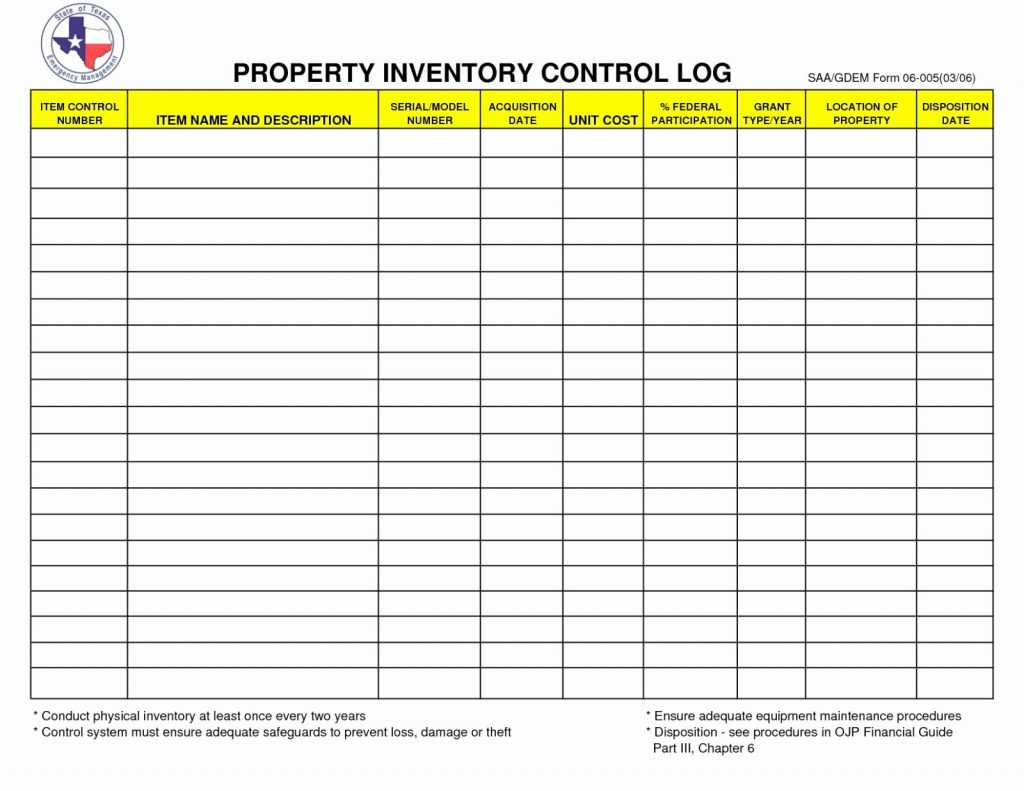 Tool Room Inventory Spreadsheet With Tool Inventory