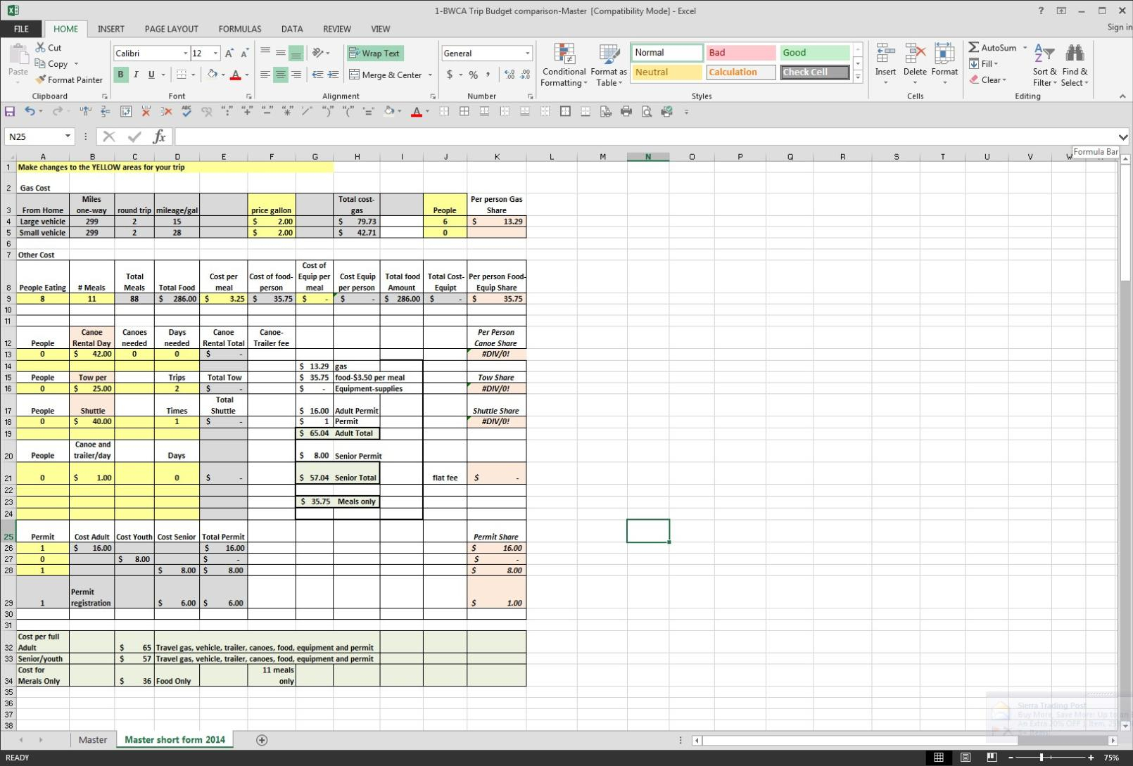 Truck Cost Per Mile Spreadsheet Regarding Trucking Cost