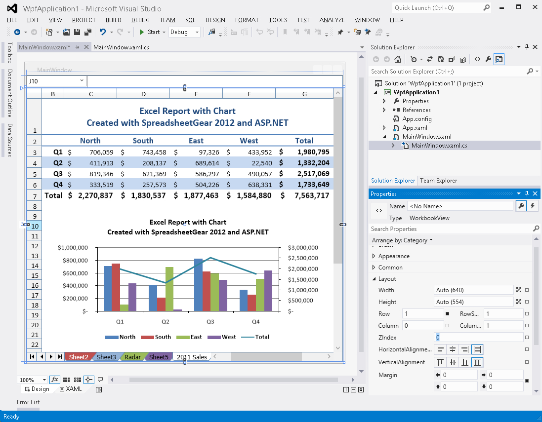 Vb Net Spreadsheet Pertaining To Excel Compatible Windows
