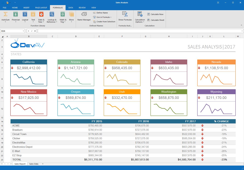 Vb Net Spreadsheet Within Winforms Spreadsheet Control