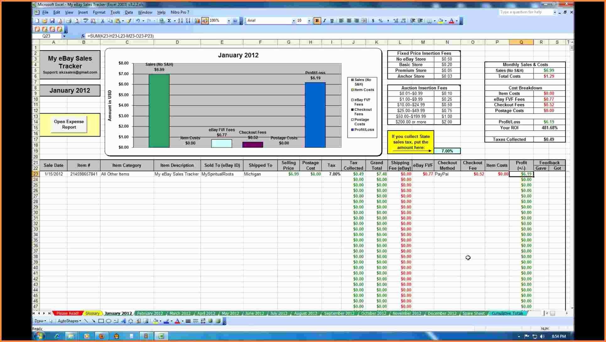 Vending Machine Tracking Spreadsheet Spreadsheet Downloa