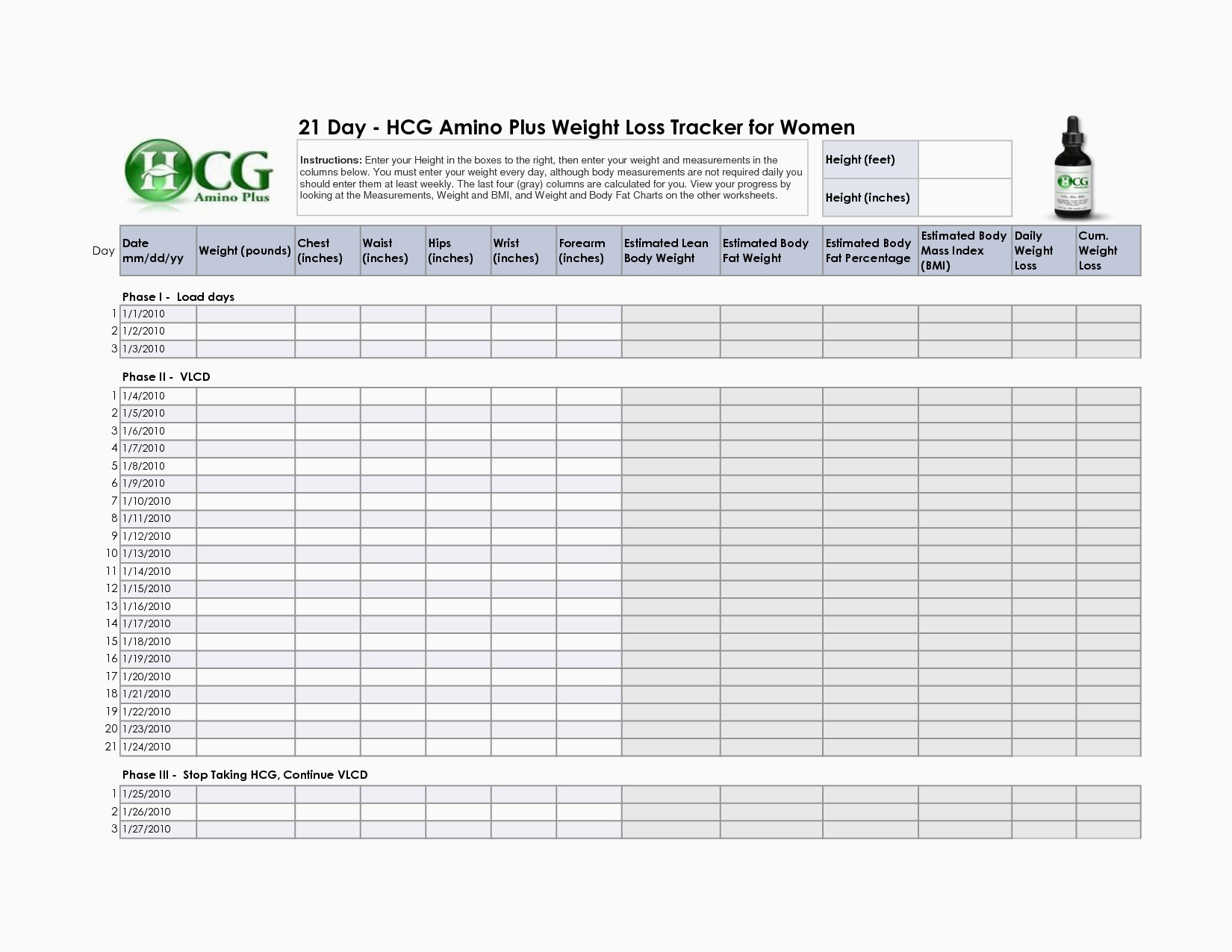 Weight Loss Spreadsheet For Group Db Excel