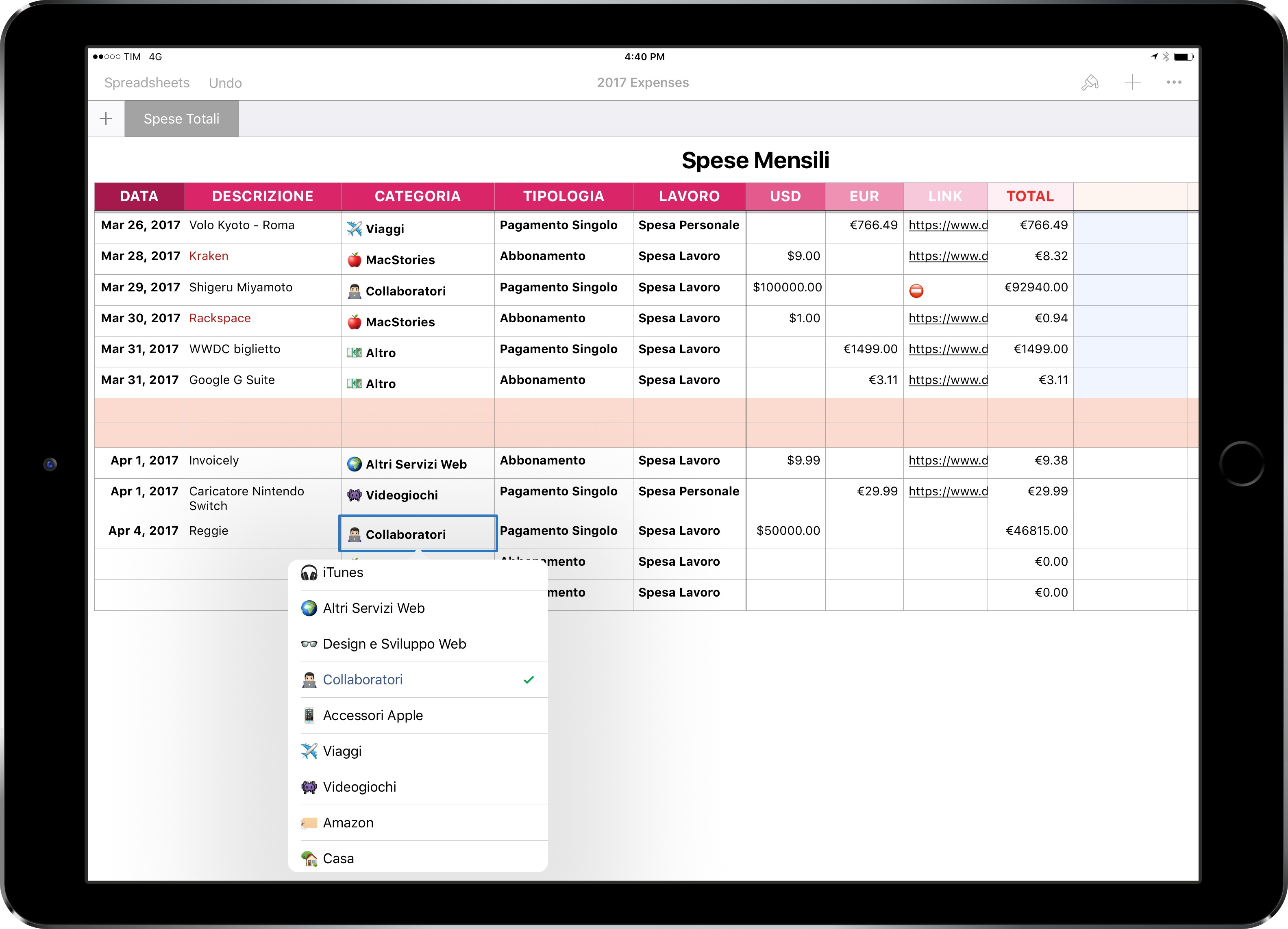 What Would An Accountant Use A Spreadsheet For In Ipad