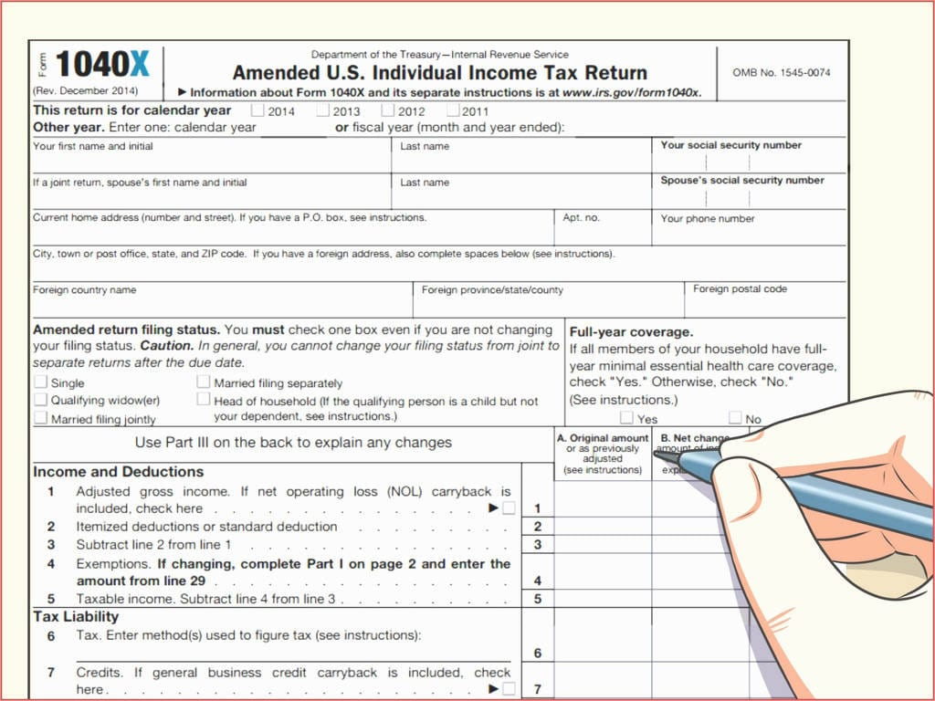 Federal Tax Return Form Ez New Tax Refund