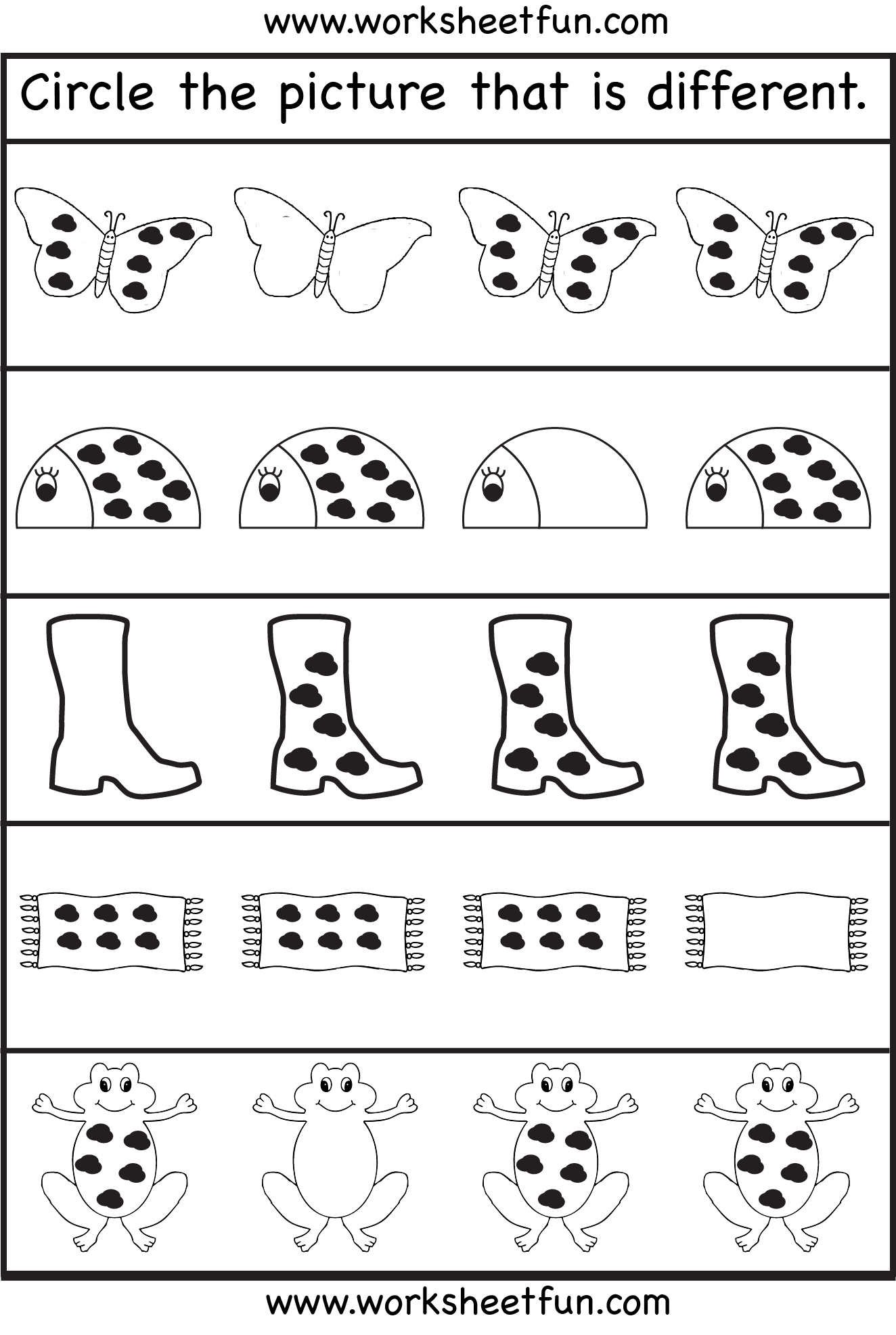 4 Year Old Worksheets Printable Learning Sample For