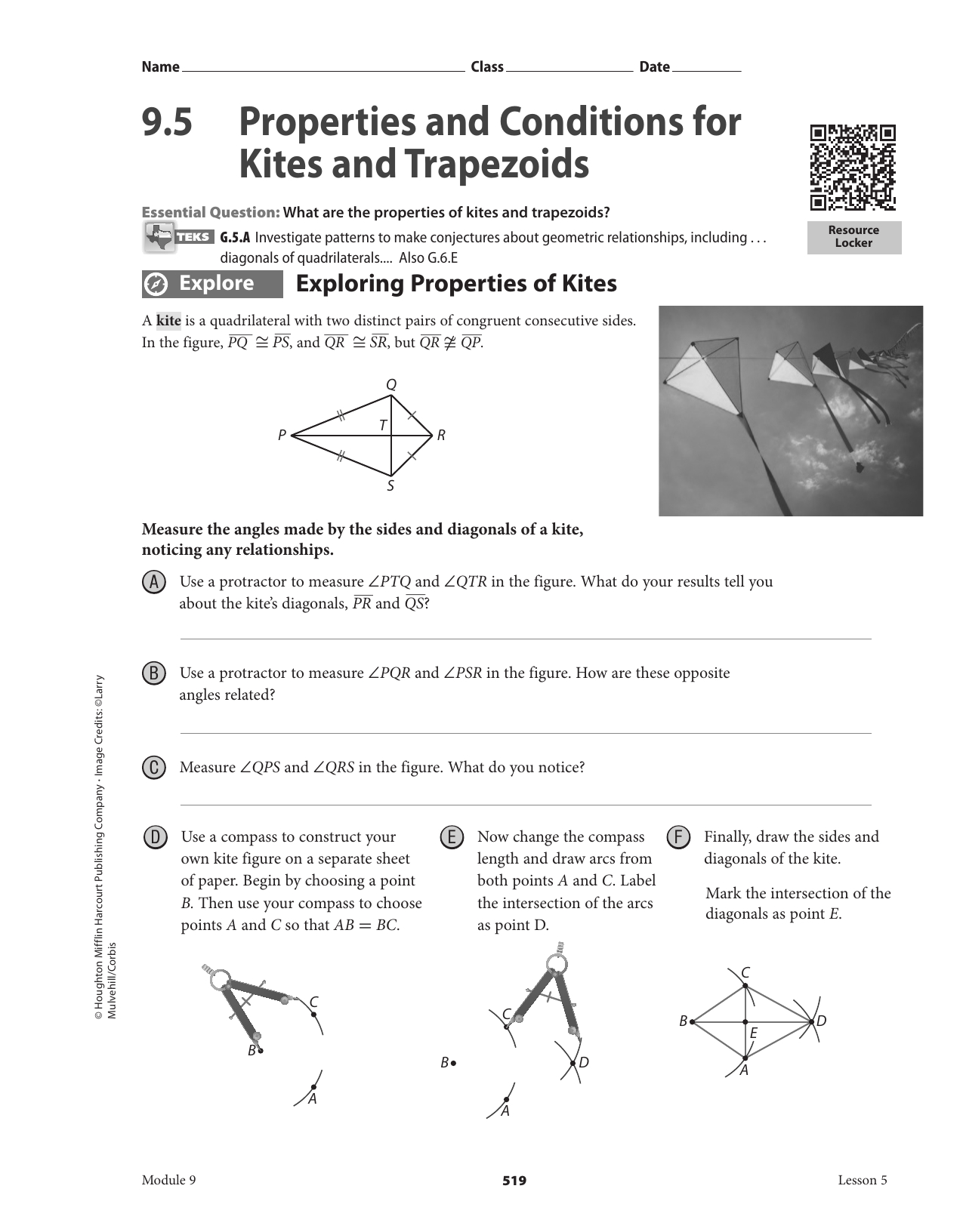 9 5 Properties And Conditions For Kites And T Zoids