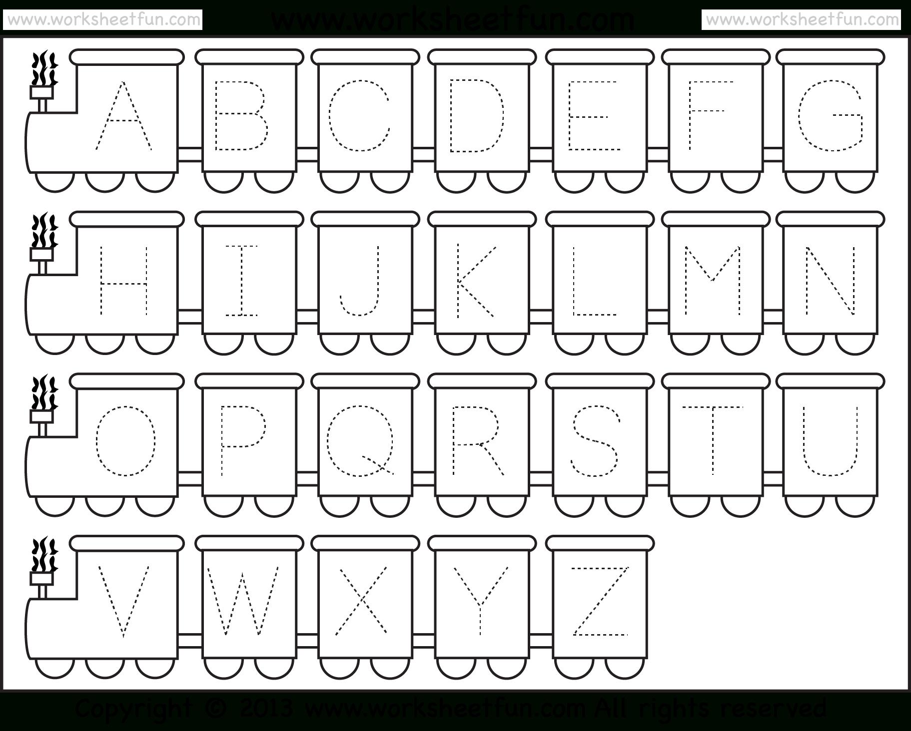 Preschool Abc Worksheets