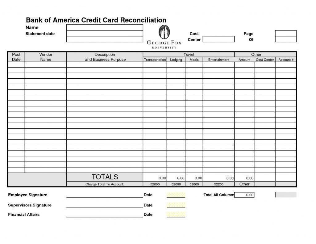 Bank Reconciliation Worksheet D365 Excel Free