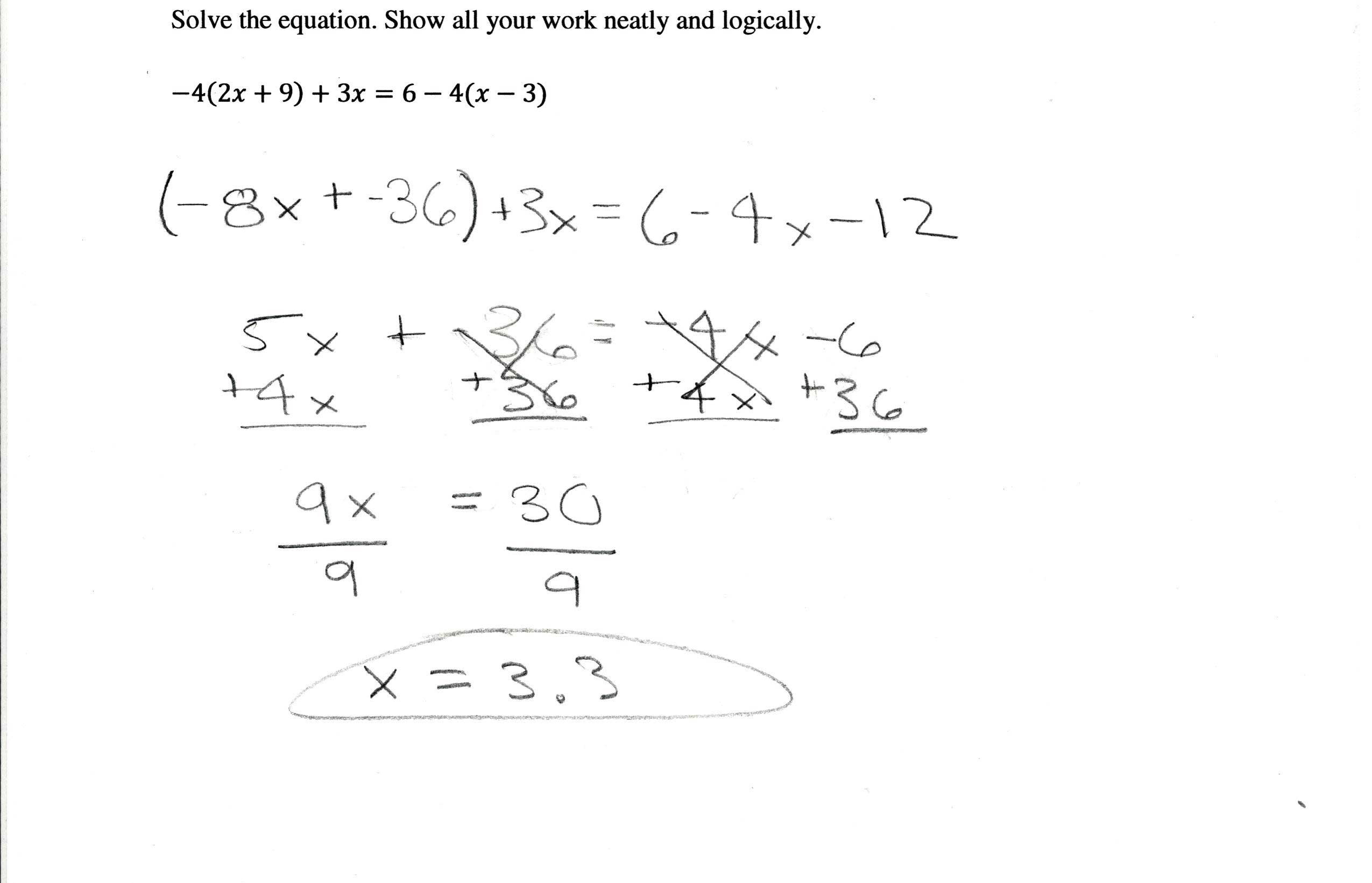 Combining Like Terms Worksheet Distributive