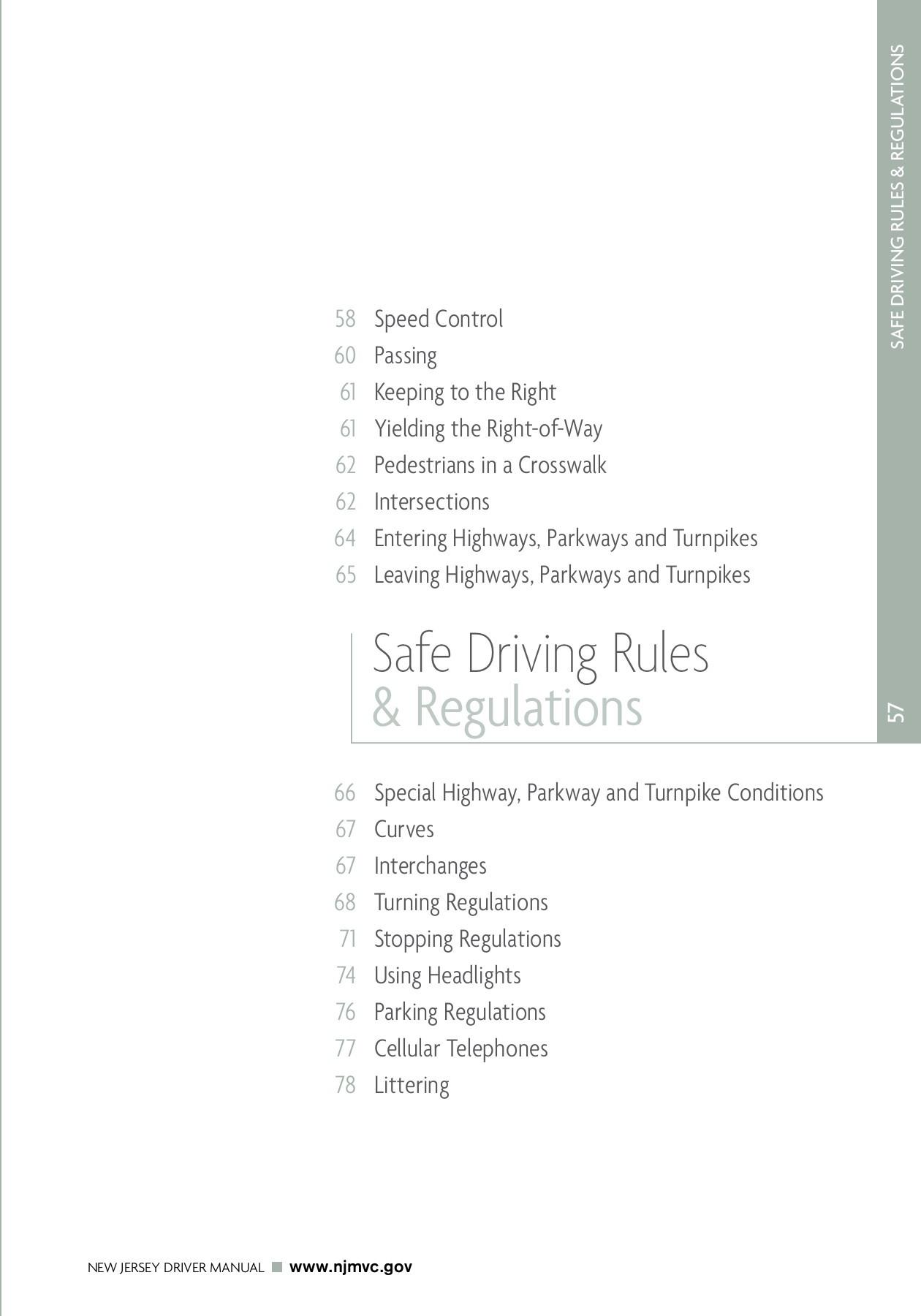 Nj Drivers Ed Worksheets