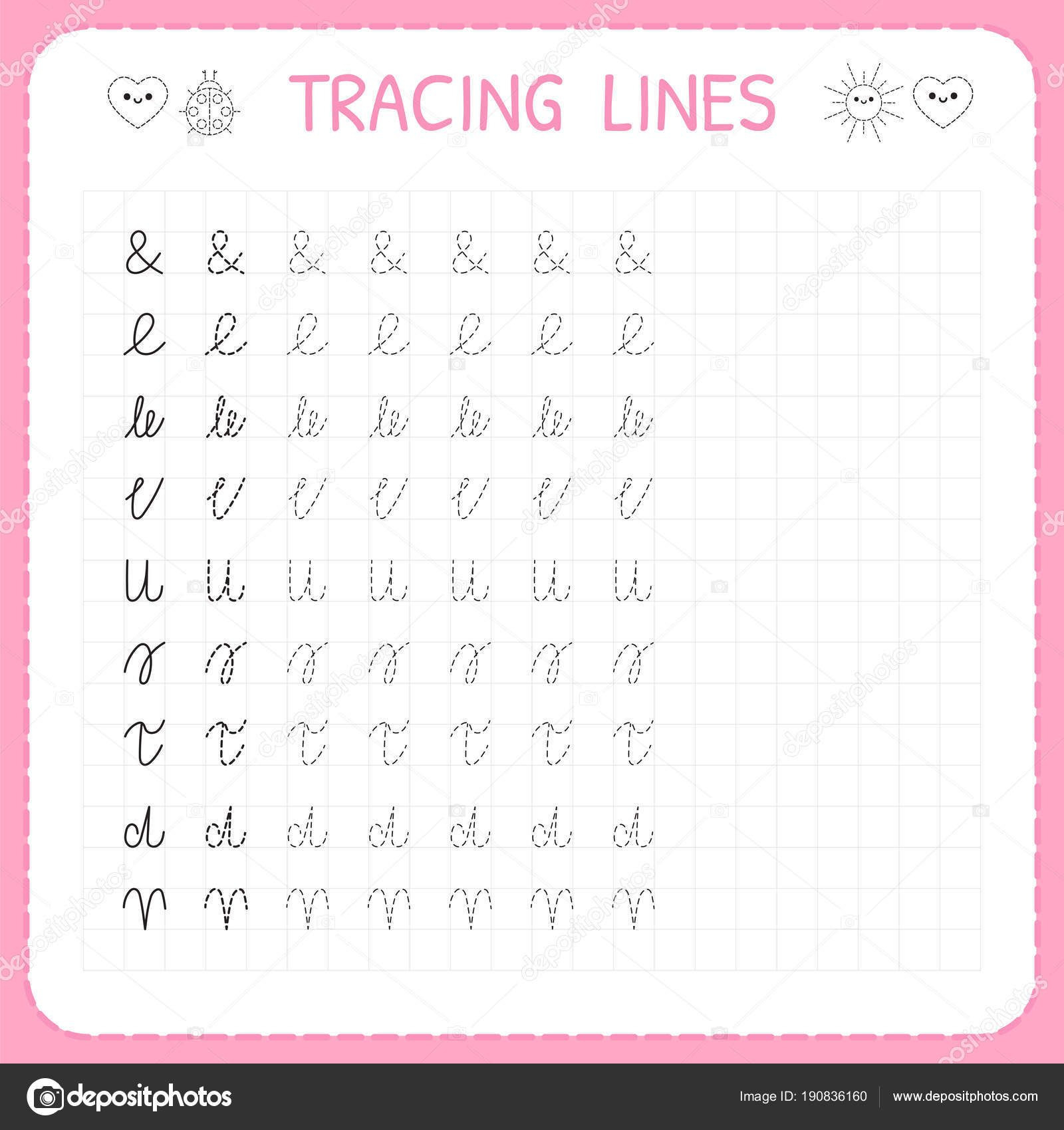 Free Handwriting Worksheets For Preschool E2 80 93 With
