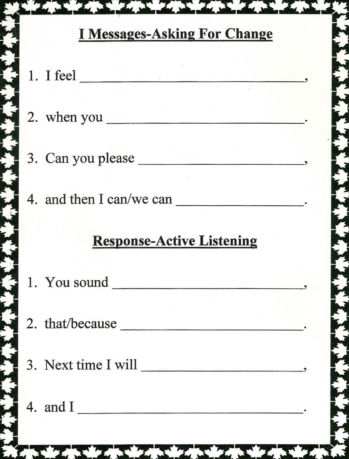 Free Printable Marriage Counseling Worksheets Marriage