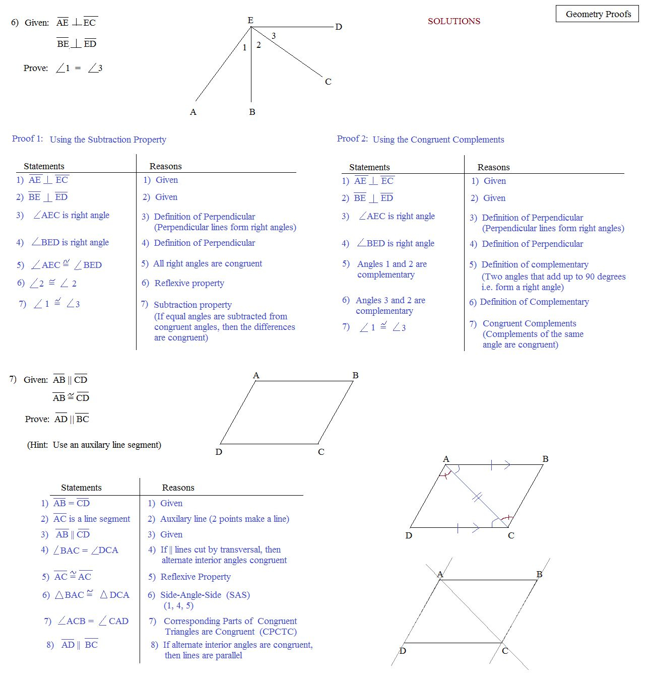 Geometry Segment And Angle Addition Worksheet