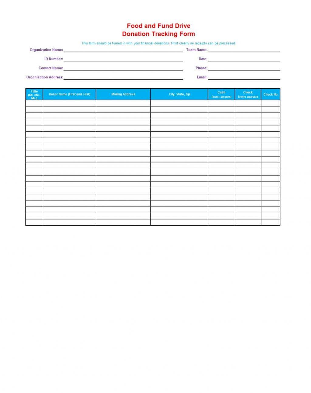 Goodwill Donation Receipt Tax Record Form Exempt