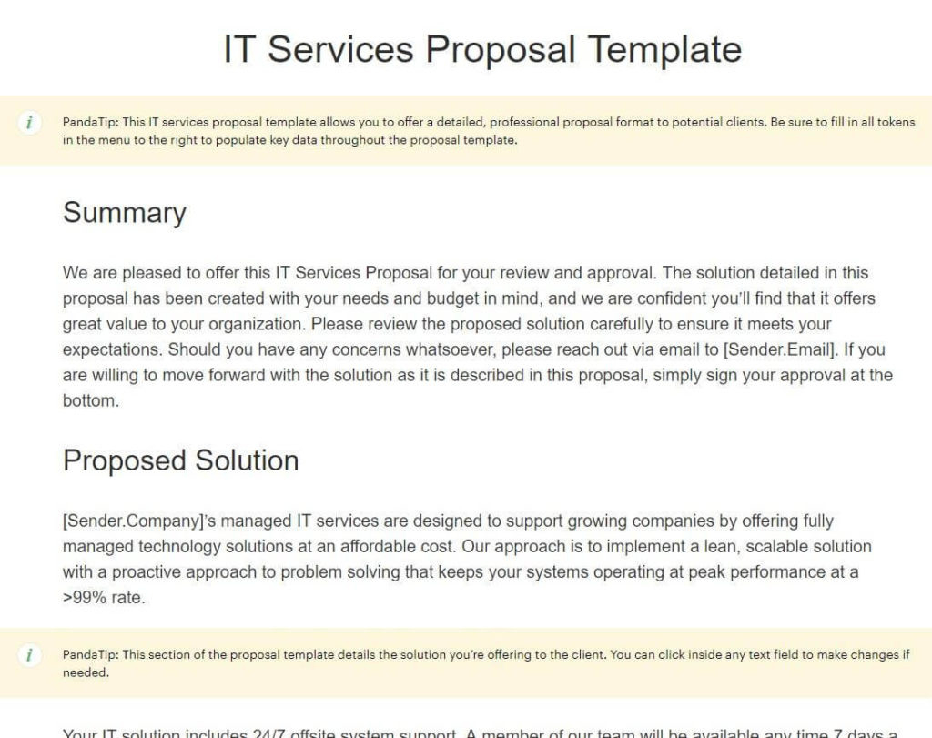 How To Write A Business Proposal In 6 Steps 15 Free