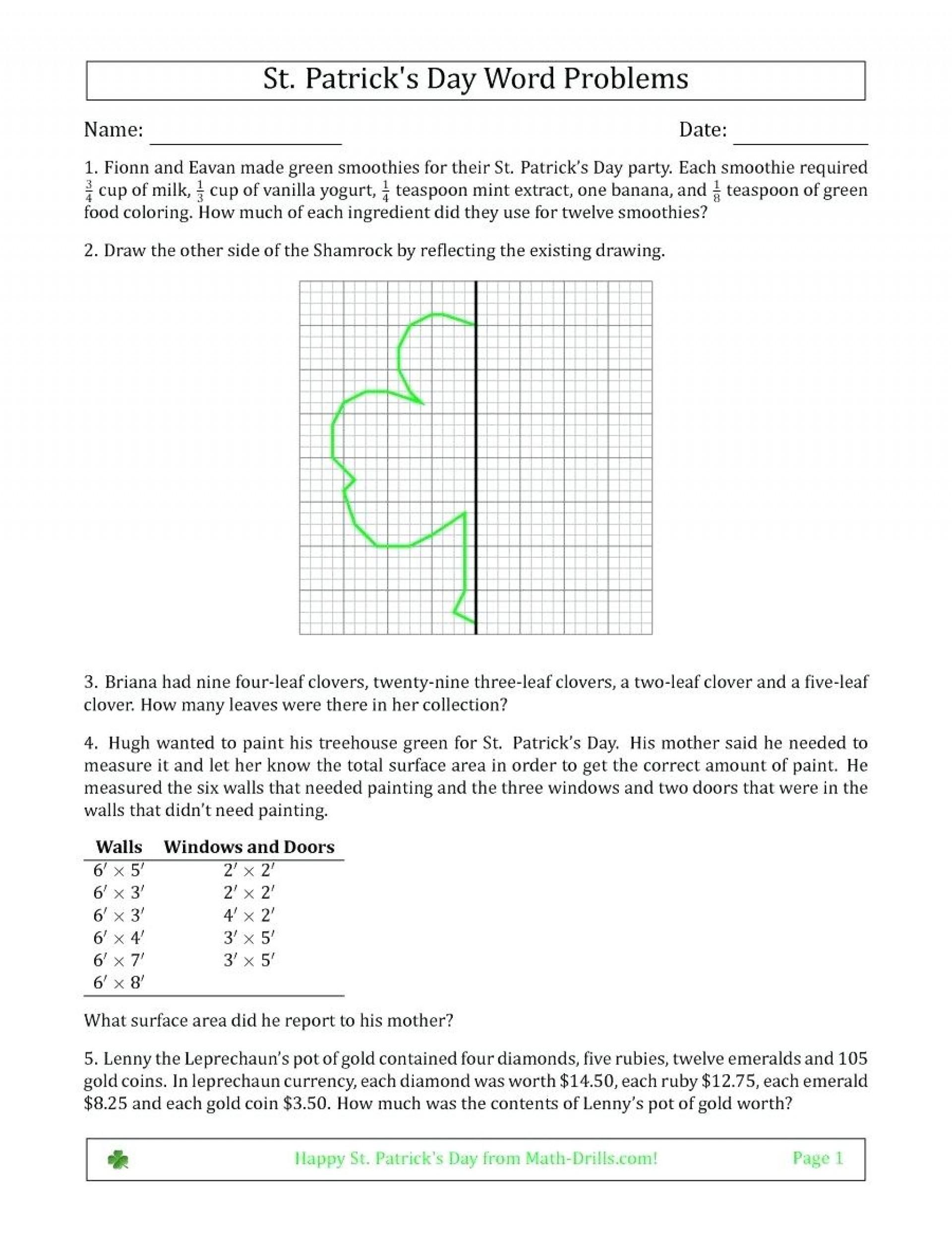 Impressive Printable Area Word Problems Quadratic