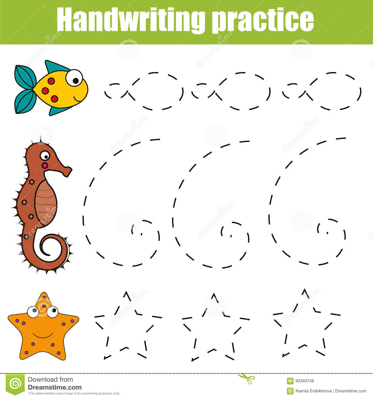 Kindergarten Worksheets For Toddlers Activity Worksheet