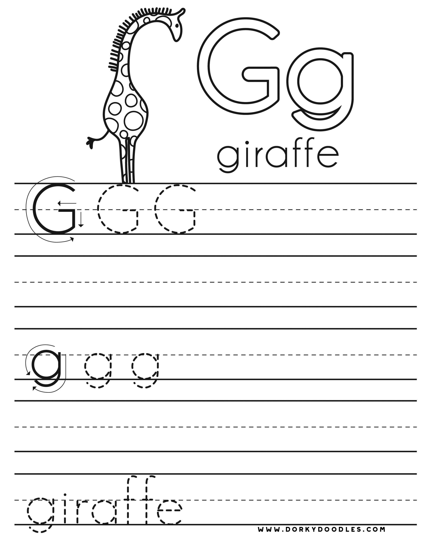 Letter G Worksheet Rizapbeauty