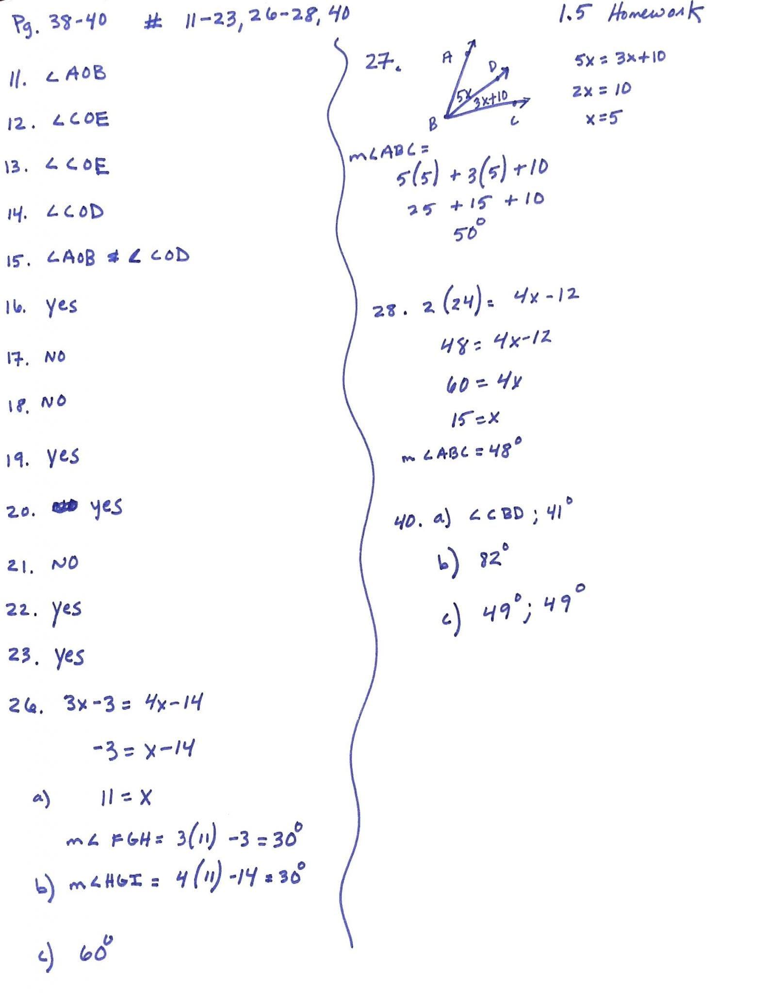 Linear Programming Worksheet Honors Algebra 2 Answers