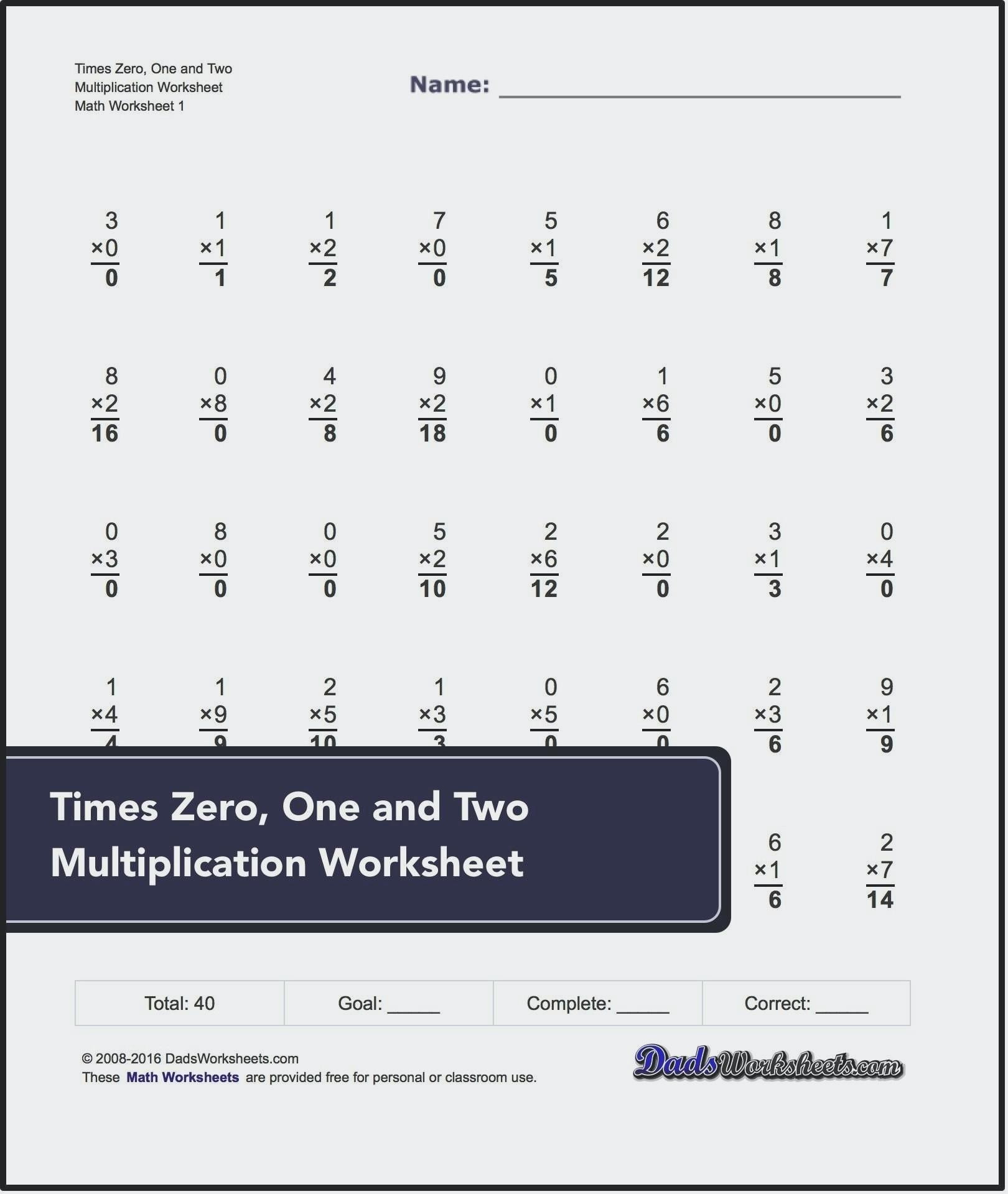 Math Aids Multiplication Fractions Worksheets Printable