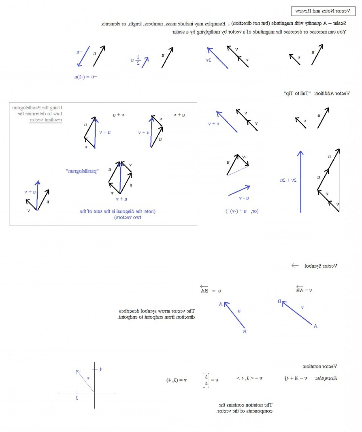 Math Worksheets Vectors Middle School Worksheet Resultant