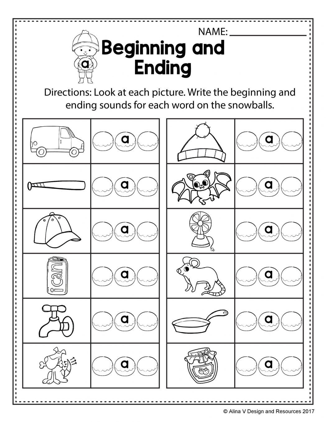 Free Phonics Worksheets First Grade