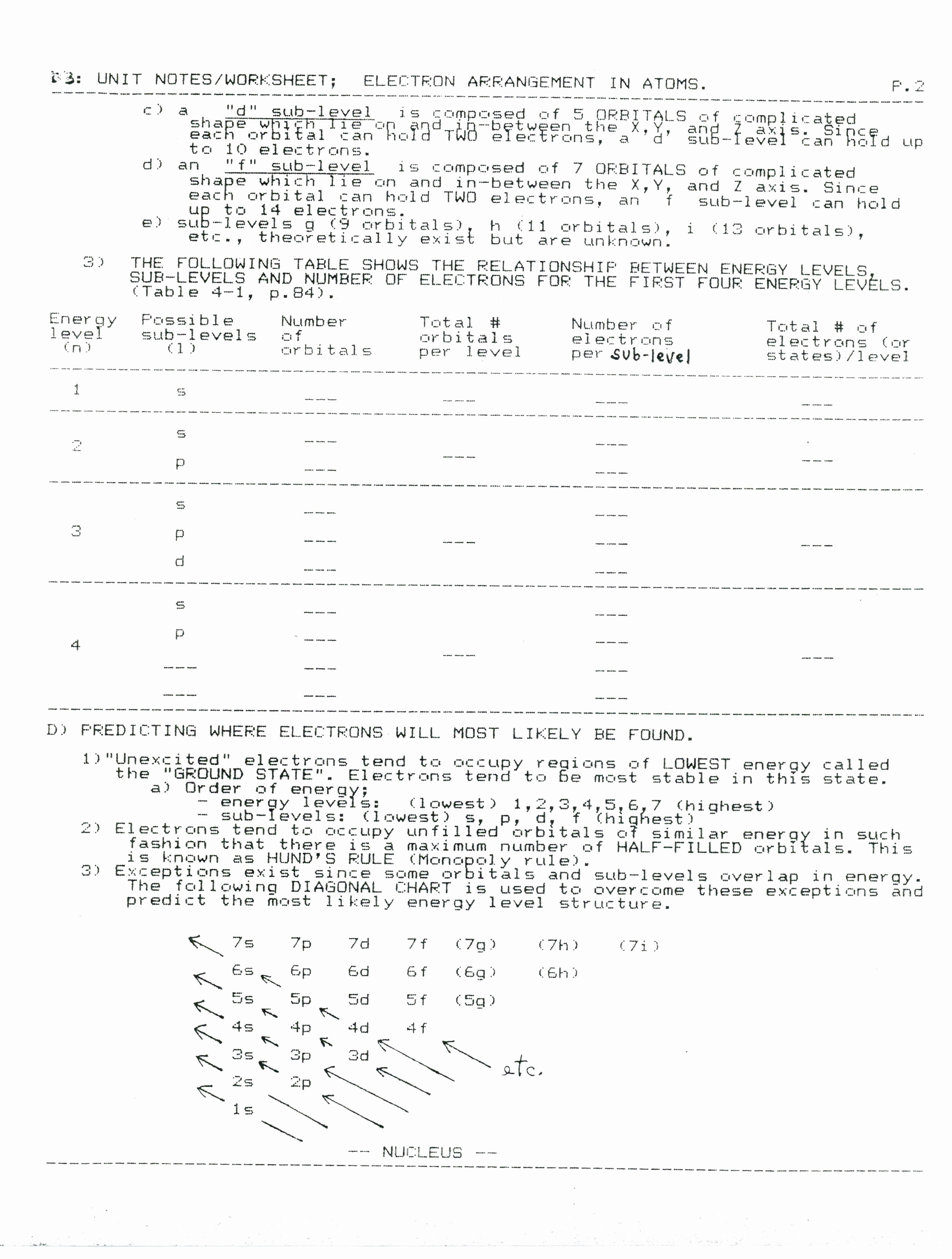 Nuclear Chemistry Worksheet Funresearcher