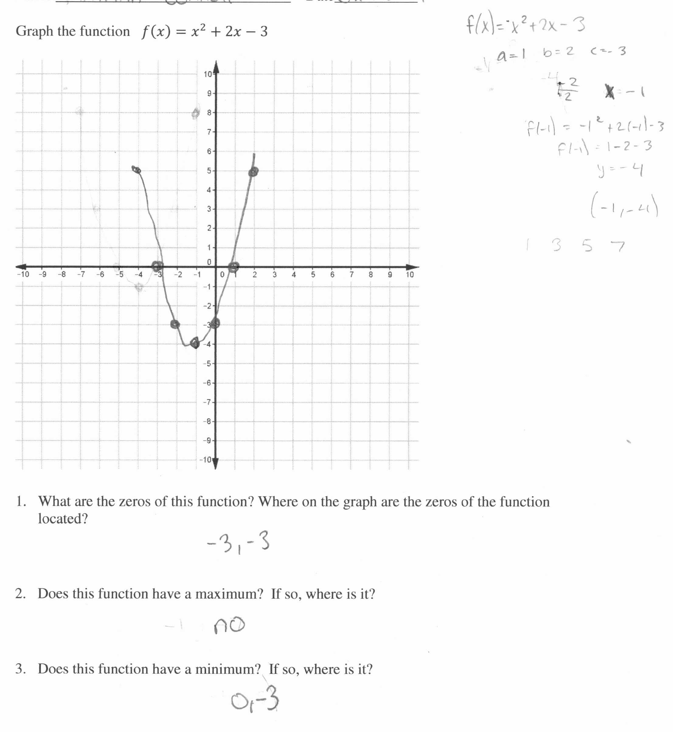 Piecewise Functions Worksheet Inspirational
