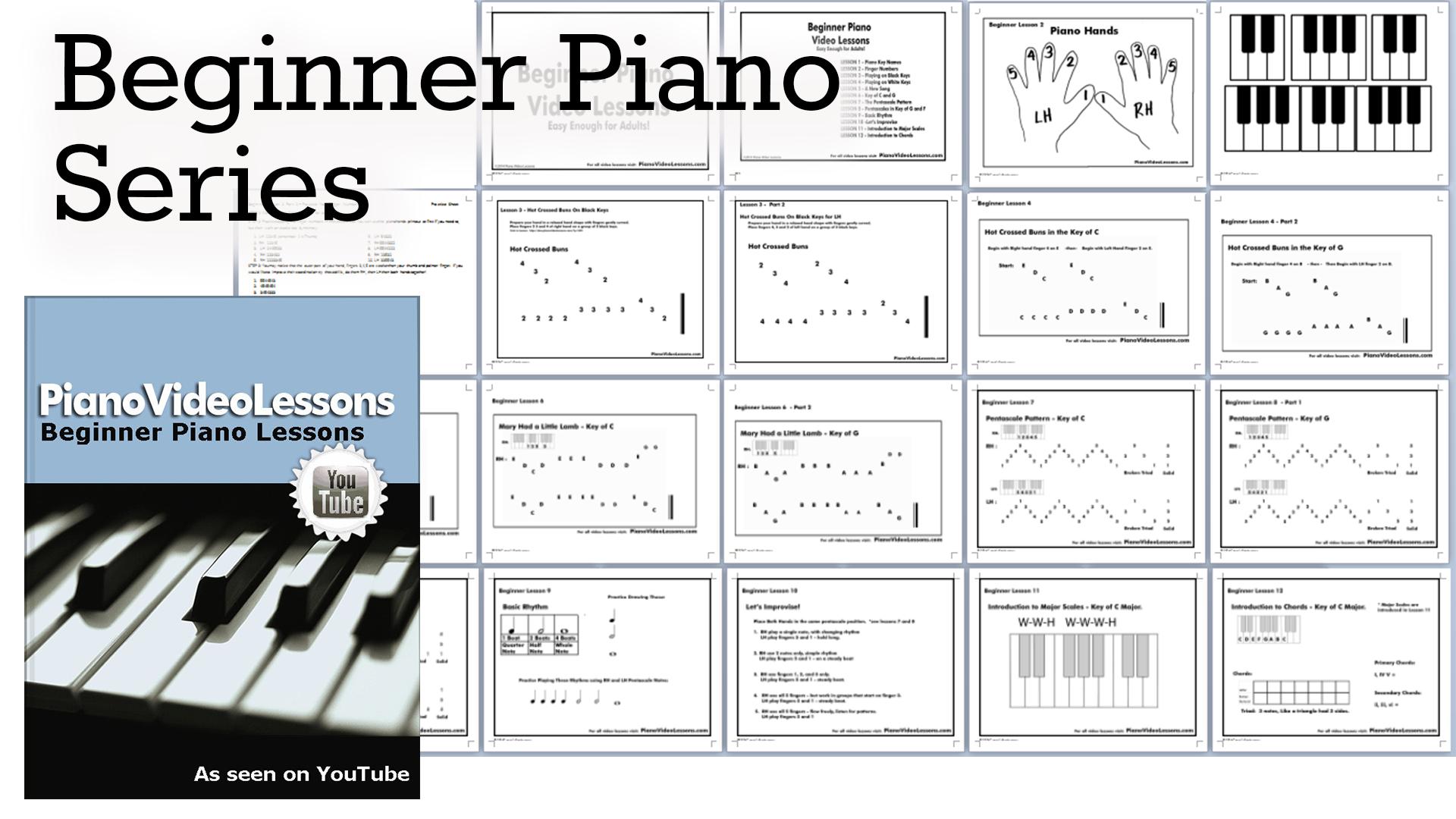 Beginner Piano Worksheets