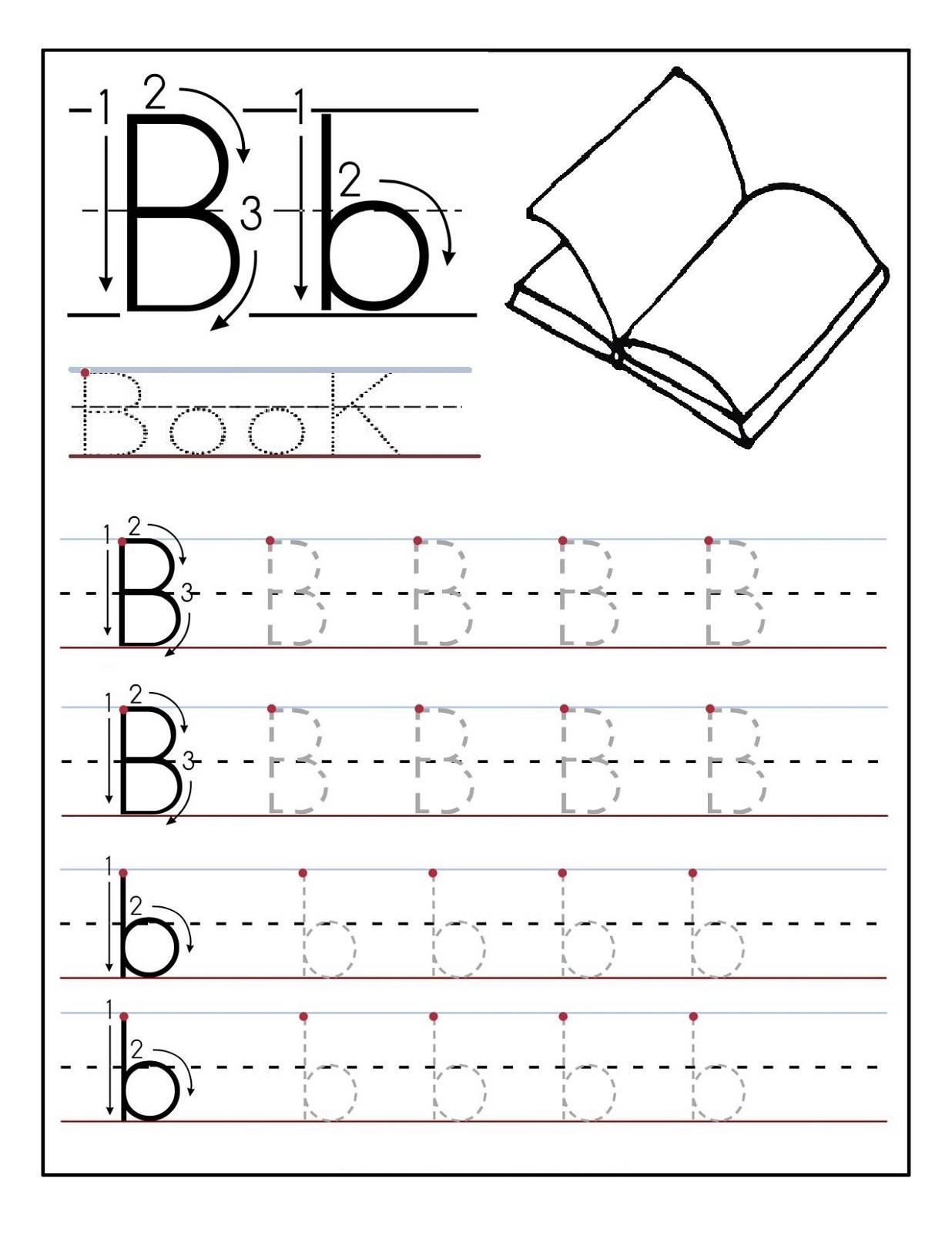 Preschool Worksheets Alphabet