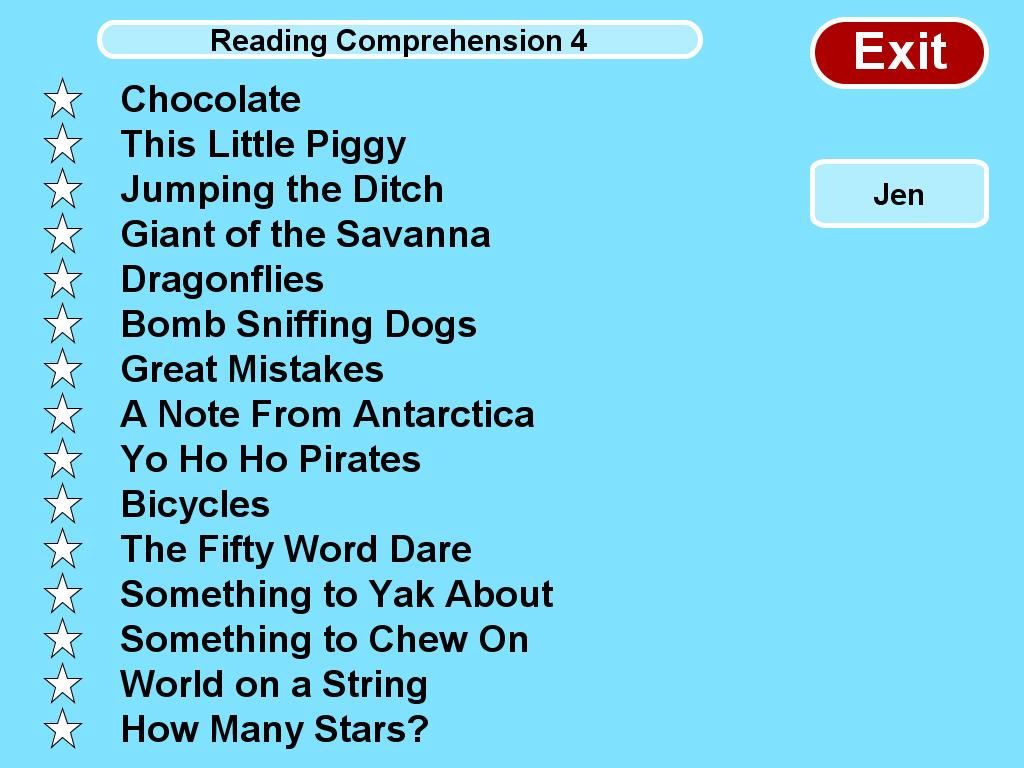 Reading Comprehension Level 4 Essential Skills Educational