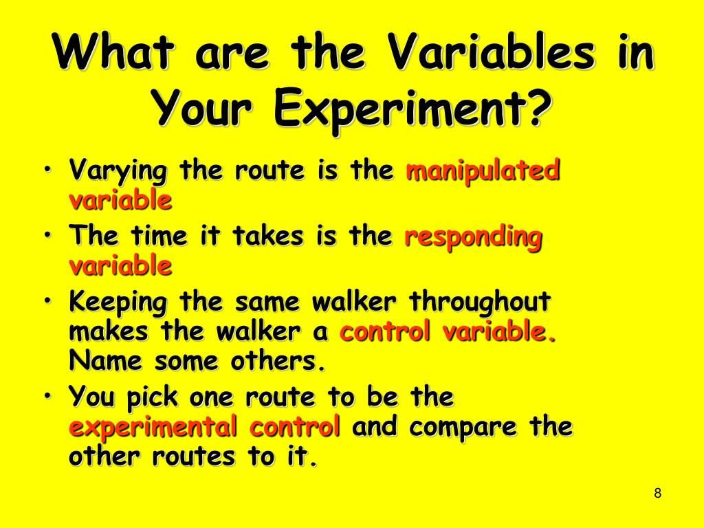 Scientific Method Review Identifying Variables Worksheet