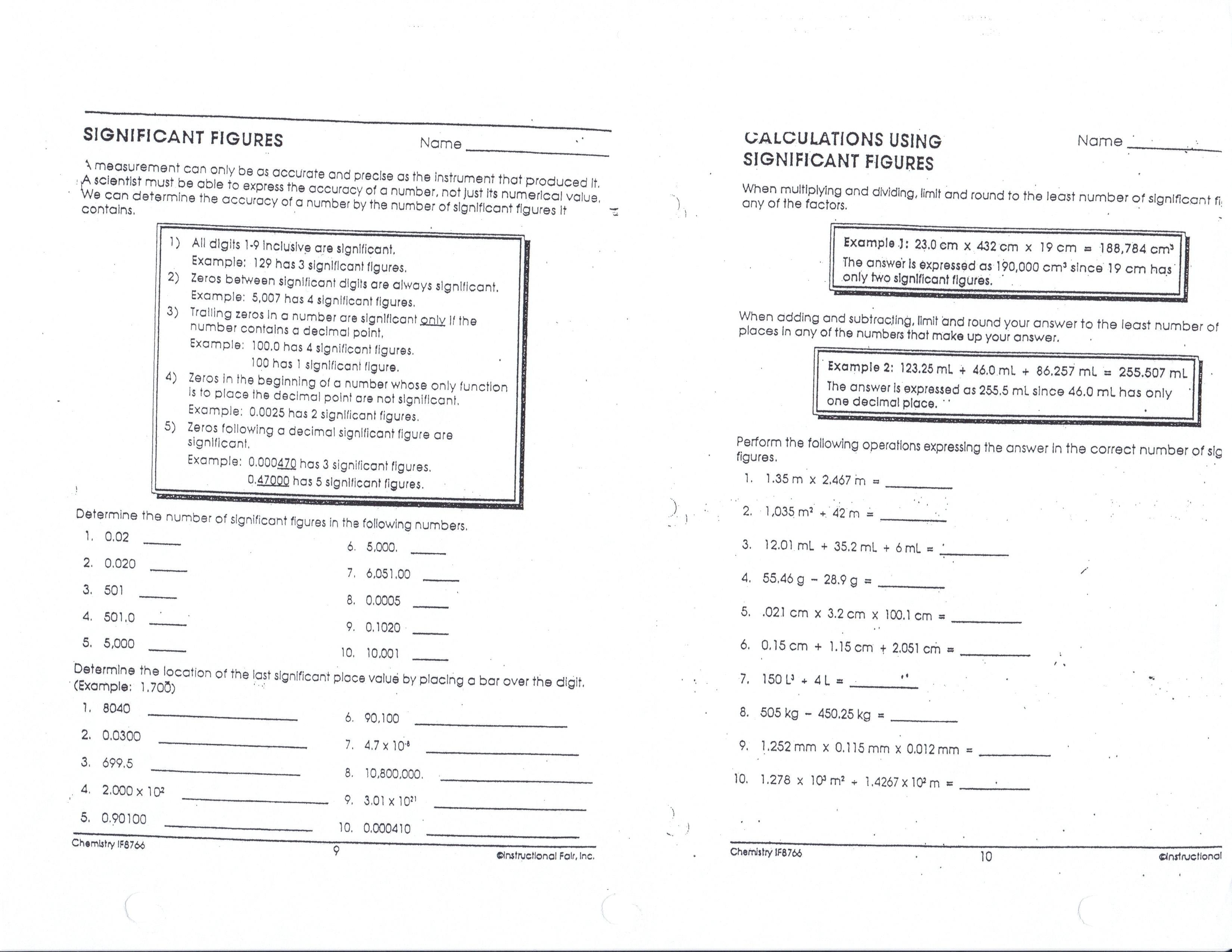 Scientific Notation Coloring Worksheet Cortexcolorco