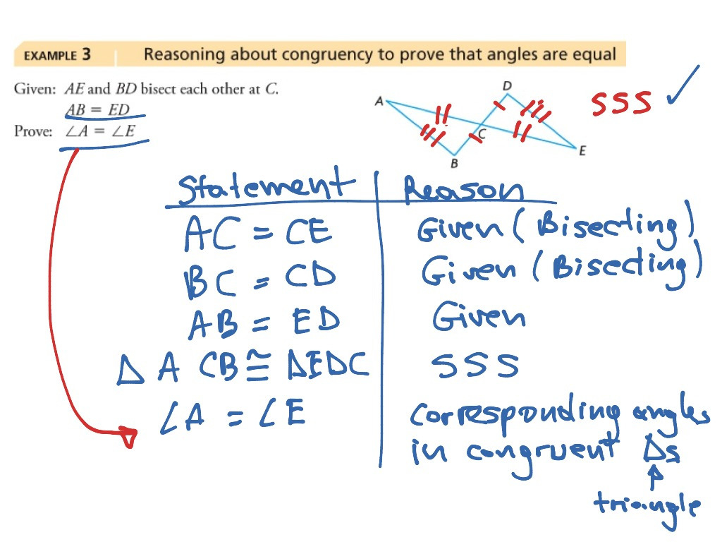 Proving Triangles Congruent Worksheet Answers