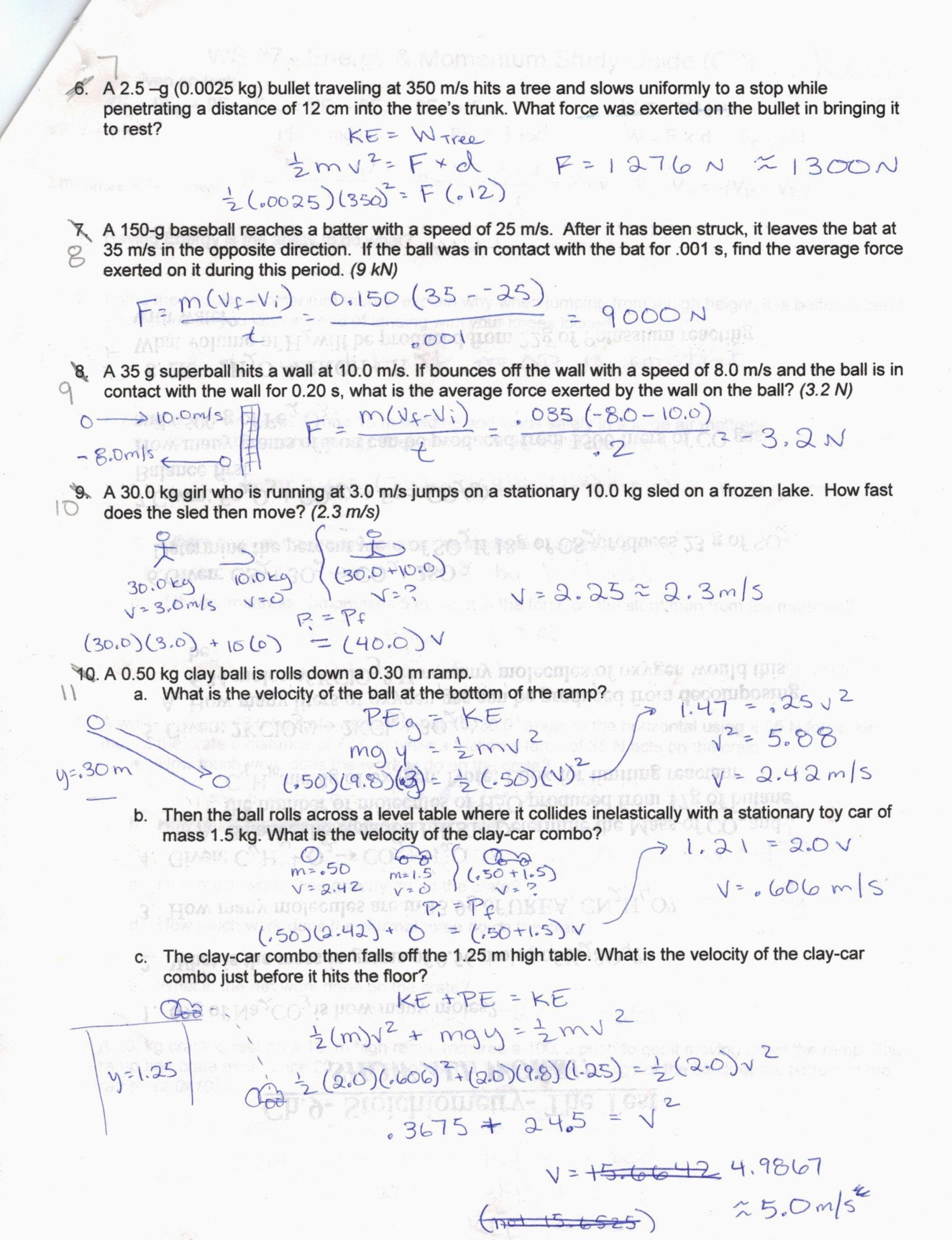 Speed Velocity And Acceleration Worksheet Answers