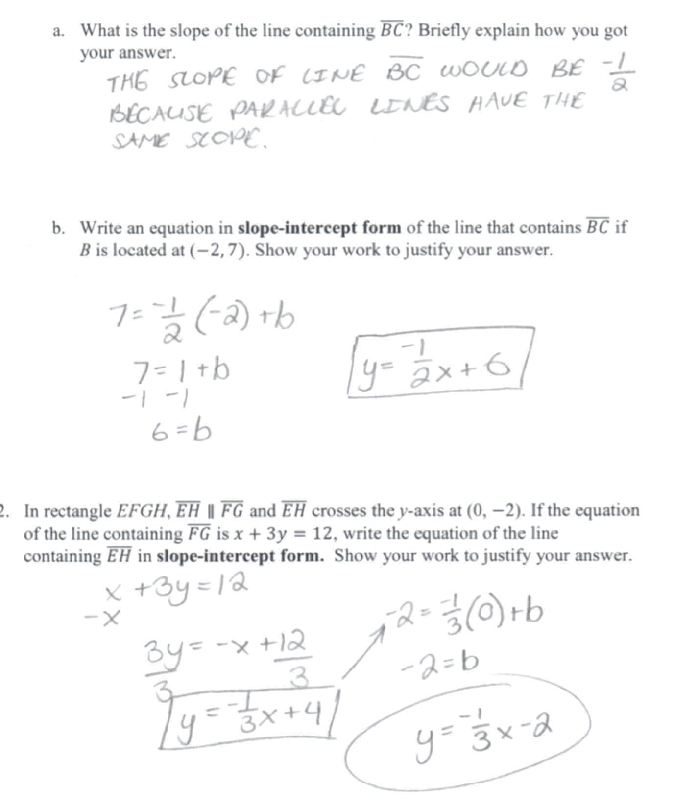 Standard Form Of E Calculator Linear Line Formula To