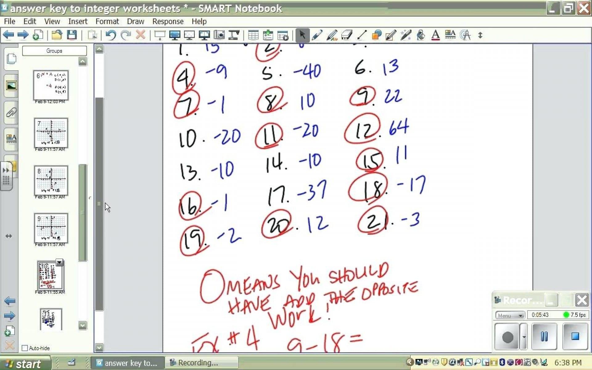 Stirring Integer Addition And Subtraction Worksheets