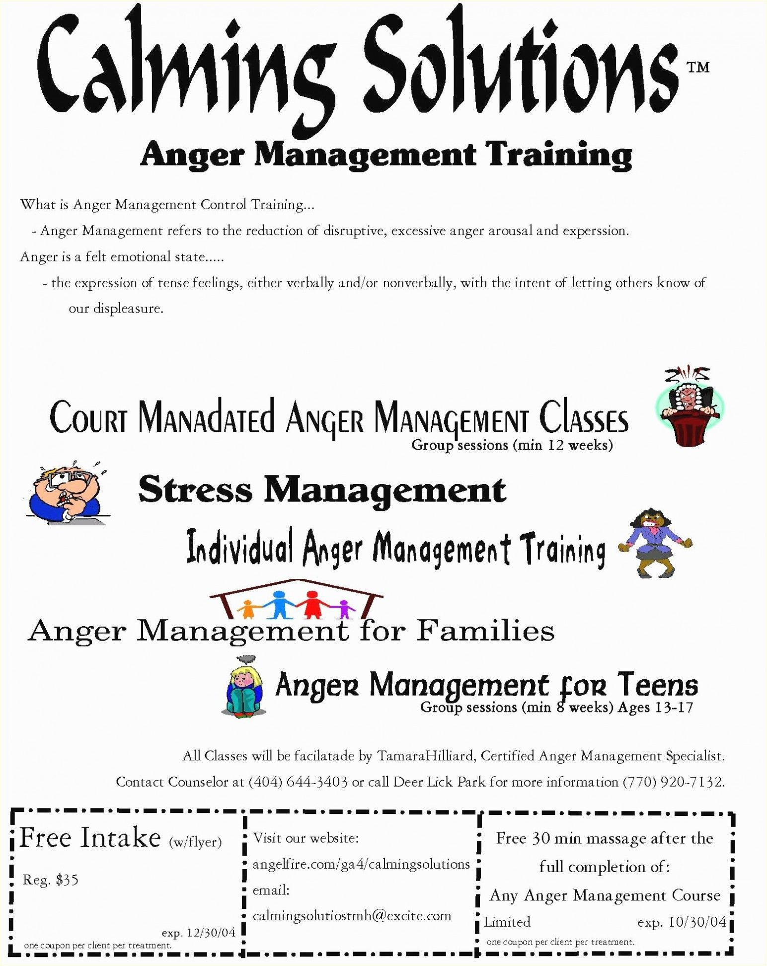 Stress Management Worksheets