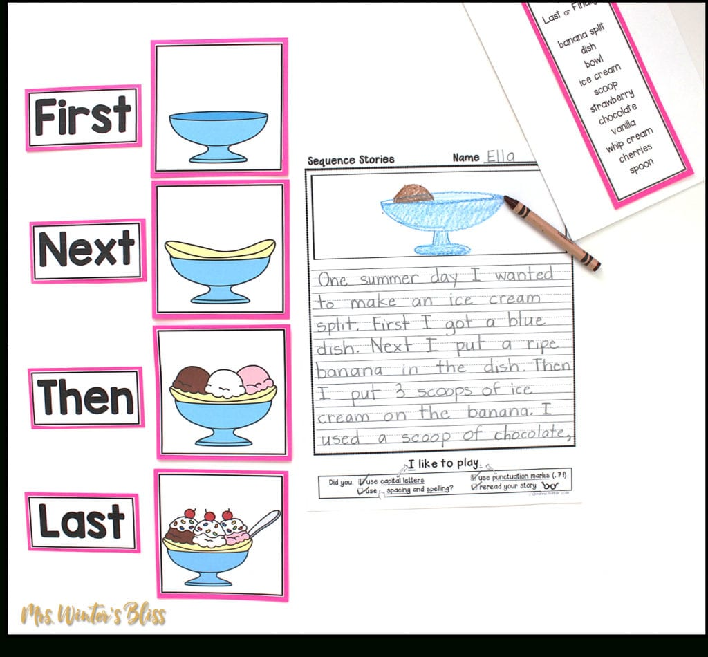 Teaching Story Retell And Sequence Writing Mrs Winter S