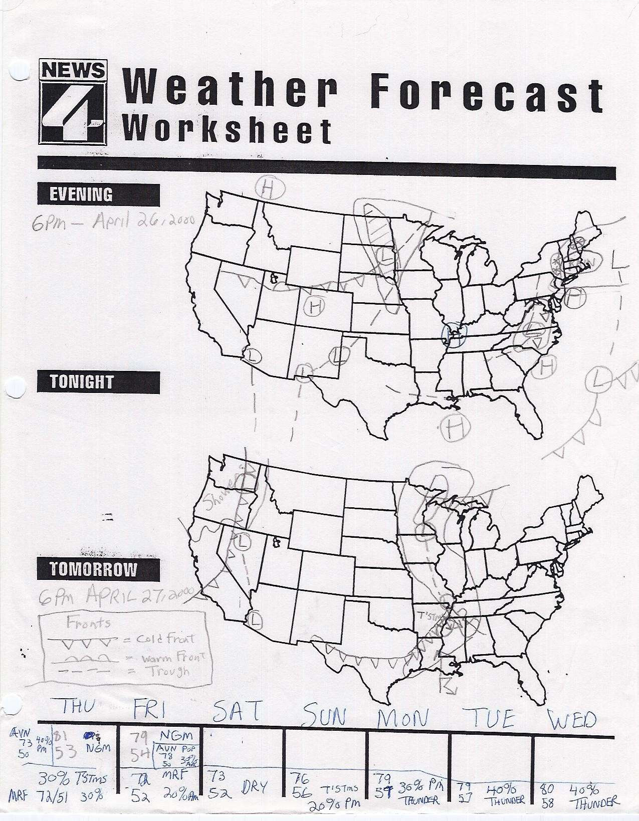 Topographic Map Reading Worksheet Answer Key