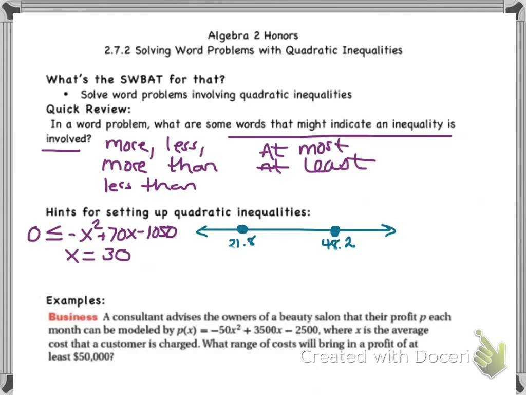 Two Step Equations And Inequalities Worksheet