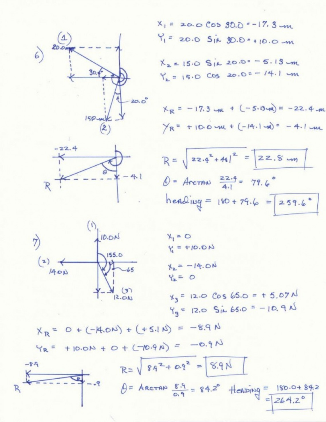 Vector Addition Worksheet Answer Key