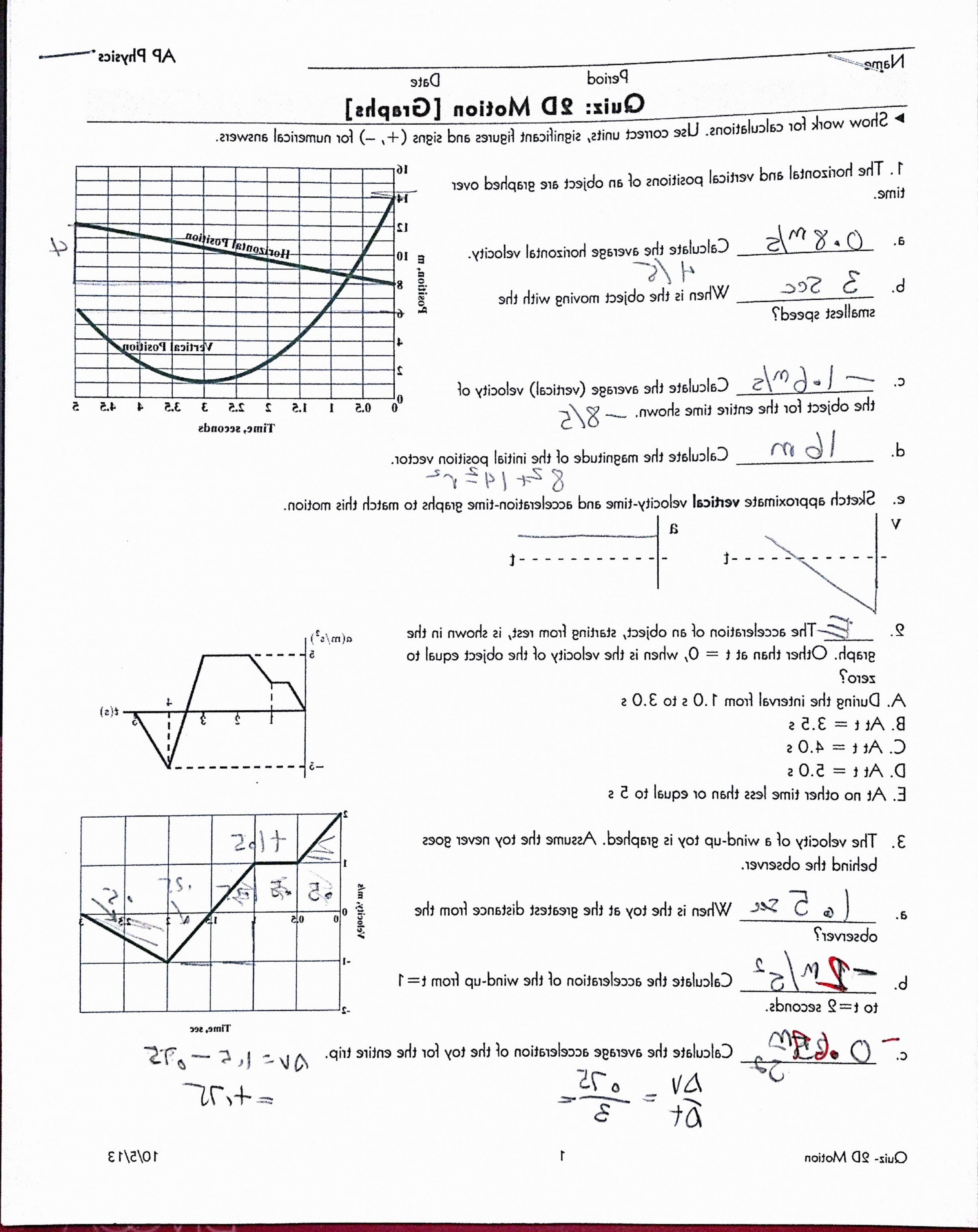 Vector Worksheet Physics Answers Unique Middle School